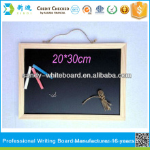 Tableau noir avec cadre en bois 30 * 40 cm tableaux personnalisés
