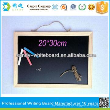 Pizarra con marco de madera 30 * 40cm pizarras personalizadas