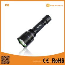C8 500lumens перезаряжаемый Xml T6 высокий люмен тактический фонарик