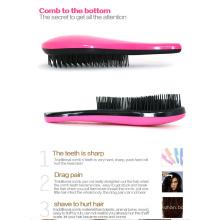Brosse à cheveux en plastique colorée Colorblanc