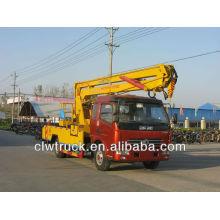 Camión de operación de plataforma aérea 16m