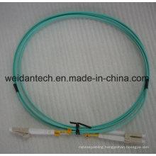 LC-LC Multimode Duplex Om3 3m 50/125 Fiber Optic Patch Cord