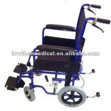 Faltbare Rückenlehne Aluminium Transit Rollstuhl