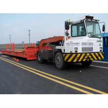 HOWO Hova 4X2 Terminal Tractor Truck for Port Application Trailer