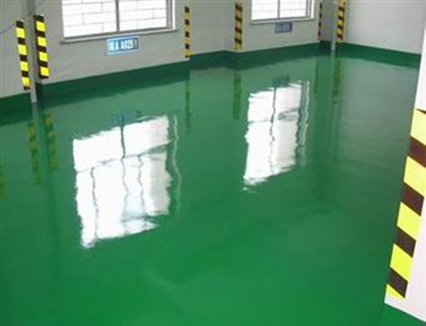 Green Two Component Epoxy Coating Floor