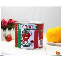 Pâte de tomate en conserve Gino pour le Bénin Afrique de l'Ouest