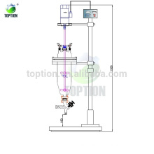 Glass liquid separator / Extractor TOPTF-50L