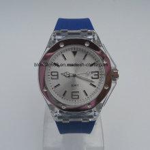 Силиконовые ручные часы Горячие продажи Аналоговые спортивные силиконовые часы для мужчин Ladies