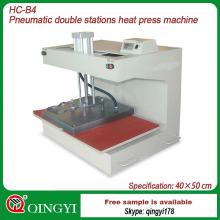 máquina de impressão da transferência térmica da camisa de t