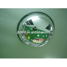 180 degree half acrylic safety full dome convex mirror ,30-100cm