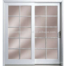 Innenbüro-Tür des einfachen Designs mit Glasfenster