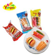 Halal Custom taste food shape Gummy Candy