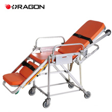 Ambulance emergency aluminum alloy ambulance stretcher