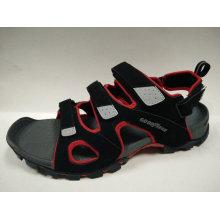 Sandálias de couro do projeto da forma do verão Men's Shoes
