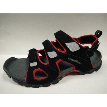Summer Fashion Design Leather Sandals Men′s Shoes