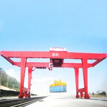 Box type double girder container gantry crane