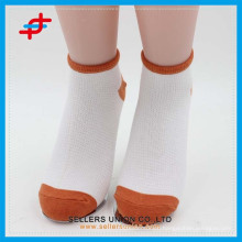 Candy Colored Cheap Cotton Ladies Ankle Socks