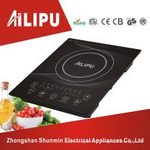 Grande plaque avec fonction minuterie Table de cuisson à induction intégrée multifonctionnelle