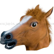 Custom Plastic Horse Mask Toy for Halloween Masquerade Carnival
