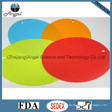Placa de seguridad antideslizante de silicona, estera de café de silicona Em10