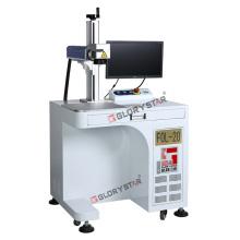 Marcador de láser de fibra de oro para la joyería Fol-20