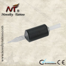 Black disposable tattoo tube