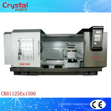 cnc lathe power tool machine CK61125E*1500mm