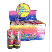 Spring Loaded Table Party Poppers Confetti Cannon Shooter