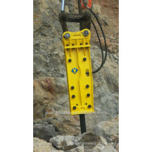 KUBOTA rock hammer excavator, KUBOTA rock martelo hidráulico, top hammer