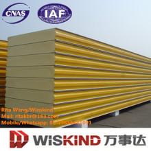 Panel de sándwich de PU Panel de poliuretano para techo y pared