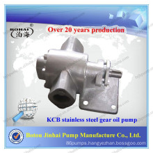 Small stainless steel gear oil pump