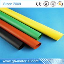 Tubo do psiquiatra do calor do silicone das luvas de Shrinkable óticas dos tamanhos diferentes para o fio elétrico