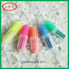 Assorted colors high quality scented mini highlighter