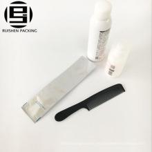 Bolsa plástica plana compuesta del embalaje del cepillo de dientes de la línea aérea del papel de aluminio