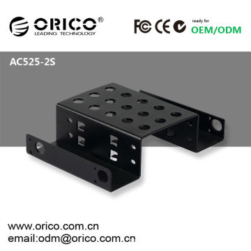 "5.25"" CD-ROM, 2pcs 2.5"" HDD/SSD Hard Drive Rack"
