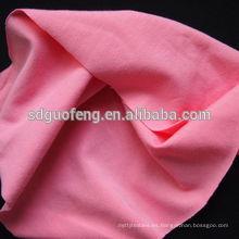 Sarga 32S * 32S + 40D 153 * 73 170 +/- 5GSM 2/1 tela de spandex de algodón de sarga