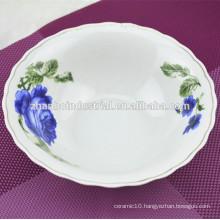 7 inch ceramic bowl new bone china