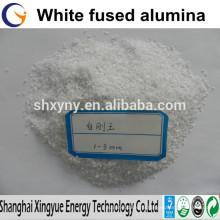 Fused white corundum for sandblasting