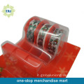 5pcs nastri di cancelleria con set di 5pcs tape dispenser