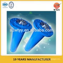 Cilindro hidráulico de prensa de flange dianteiro para equipamentos industriais