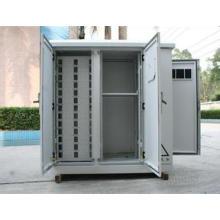 Caja de distribución de alimentación y distribución de cable