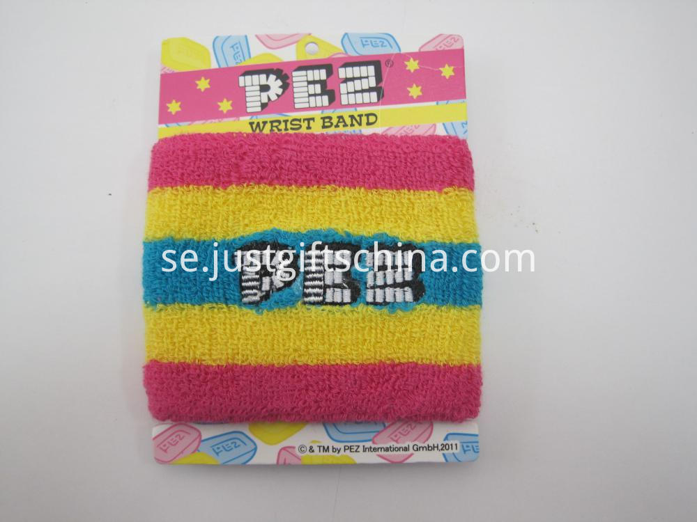 Promotional Embroidered Cotton Wristband at Low Quantity (2)
