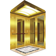 Machine Room Passenger Elevator with Luxury Lift Car Decoration China for Suites