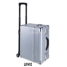 strong and portable aluminum luggage trolley wholesale from China factory