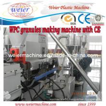 Shj-75 Wood Plastic Composite WPC Granulate Machine