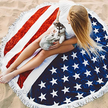Cheap Microfiber Fashion Printed Round Beach Cloths