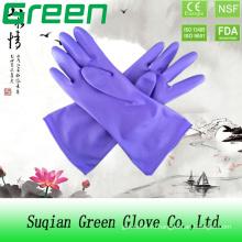 Дешевая пурпурная стиральная перчатка для дома