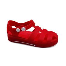 Outdoor Summer Beach Pvc Jelly Shoes Children Kids Sandals Jelly Sandals Plastic Soft Kids Shoes