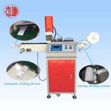 Factory making for Ultrasonic Cloth Trademark Cutters Ultrasonic Fabric Label Cutting Machine supply to India Factories