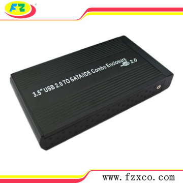 USB2.0 3.5 sata/ide External Aluminum hdd caddy